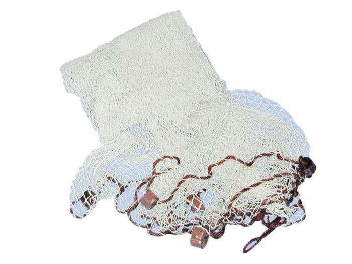 filet de peche decoratif coton naturel avec flotteurs 250 250 cm roi de bretagne. Black Bedroom Furniture Sets. Home Design Ideas