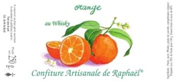 CONFITURE ORANGE ET WHISKY RAPHAEL 250G
