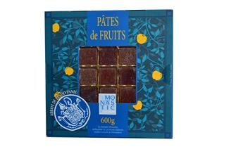 PATES DE FRUITS COFFRET BLEU 600GR
