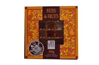 PATES DE FRUITS COFFRET JAUNE 300GR