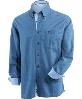 CHEMISE ML NEW LAMBERT DENIM