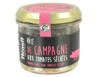 PATE CAMPAGNE AUX TOMATES SECHEES 90G HENAFF SELECTION