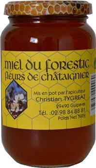 MIEL CHATAIGNER 500G FORESTIC