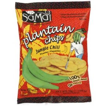 CHIPS BANANE PLANTAIN PIMENTEE 75G