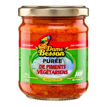 PUREE DE PIMENTS VEGETARIENS DAME BESSON 90G