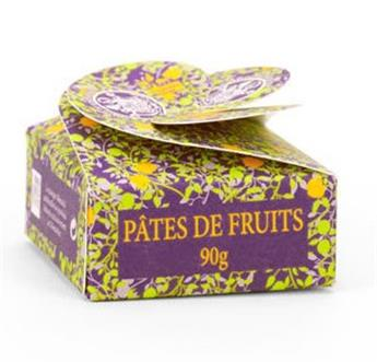 PATES DE FRUITS MINI BOITE TREFLE 90GR