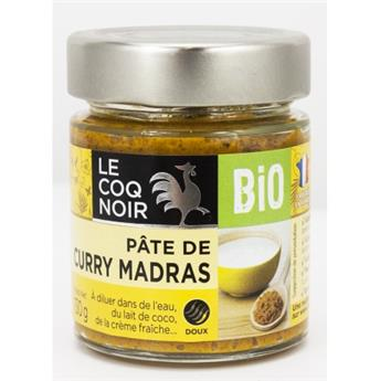 PATE POUR CURRY MADRAS BIO 130G
