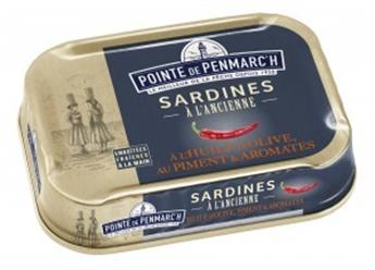 SARDINES PIMENT AROMATES POINTE PENMARCH 115G