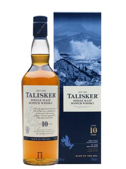 TALISKER 10 ANS SINGLE MALT 70CL 45.80°