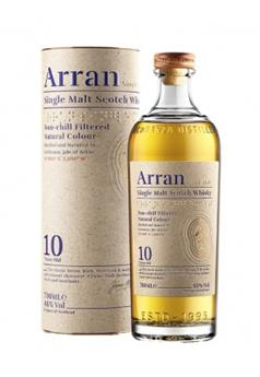 ARRAN 10 ANS SINGLE MALT WHISKY 70CL 46°