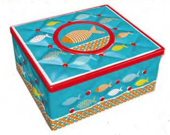 BOITE RECTANGLE KAPITON POISSON DECO