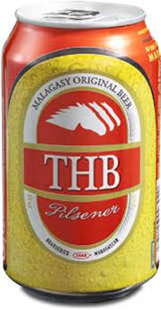 BIERE 33CL THB (THREE HORSES BEER) CANETTE 5.4°