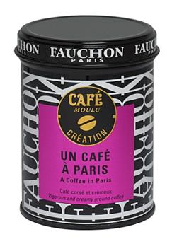 CAFE MOULU UN CAFE A PARIS BOITE METAL 125G FAUCHON