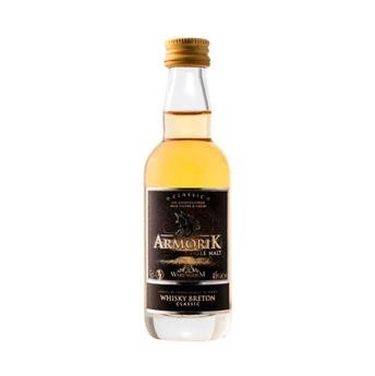 MIGNONNETTE WHISKY ARMORIK 46° SINGLE MALT 5CL