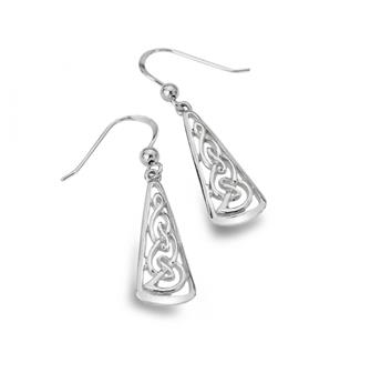 PENDANTS OREILLES MOTIF CELTIQUE 9126
