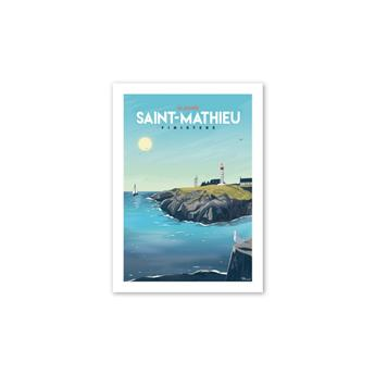 CARTE POSTALE SAINT MATHIEU