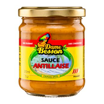 SAUCE ANTILLAISE DAME BESSON 21CL