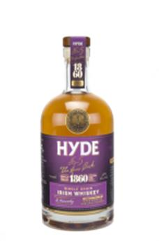 HYDE N°5 SINGLE GRAIN 6 ANS BURGUNDY FINISH 70CL 46°