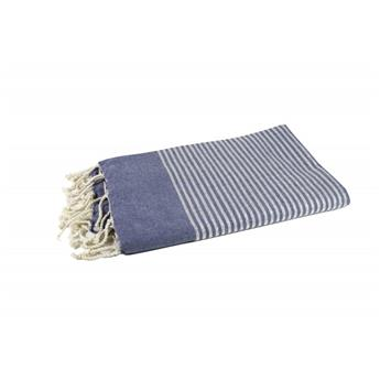 FOUTA LUREX Jeans Rayures Argent