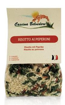 RISOTTO POIVRONS BELVEDERE 250 G