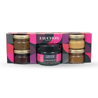 ASSORTIMENT MINI THE ET CONFITURE 137G FAUCHON