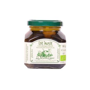 OLIVES TAGGIASCHE BIO A L HUILE D OLIVE 180G