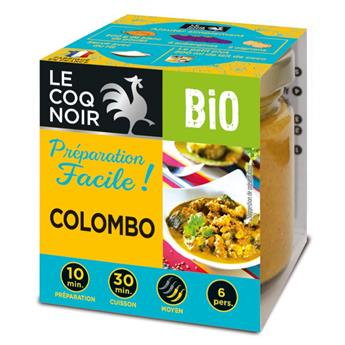 PREPARATION FACILE COLOMBO BIO 80 G