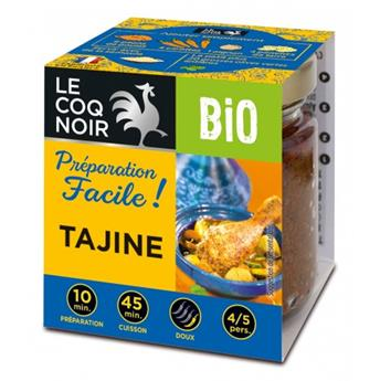 PREPARATION FACILE TAJINE BIO 80 G