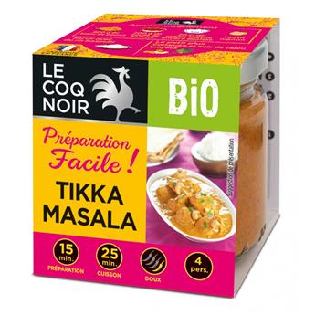 PREPARATION FACILE TIKKA MASSALA BIO 80 G