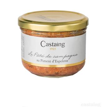 PATE CAMPAGNARD PIMENT ESPELETTE CASTAING 180G