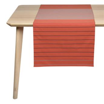 JETE DE TABLE 155 x 50 cm SAUVELADE BRIQUE