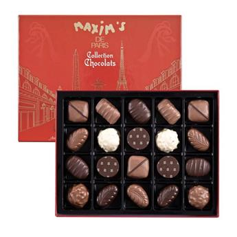 CHOCOLATS ASSORTIS X20 BOITE PARIS 200G
