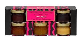ASSORTIMENT DECOUVERTE MINI CONFITURES 5X28G FAUCHON