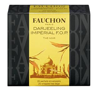 THE DARJEELING IMPERIAL 20 SACHETS FAUCHON 40G