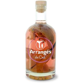 PUNCH AU RHUM 70 CL 32° CARAMBOLE PASSION LES RHUMS DE CED