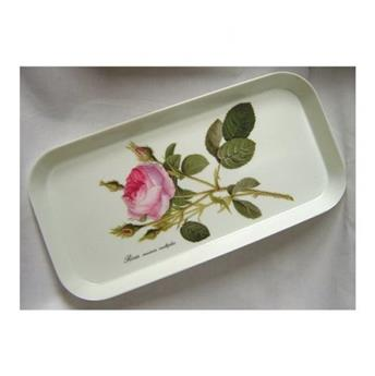 PLATEAU 31 x 15 cm SNACK REDOUTE ROSES